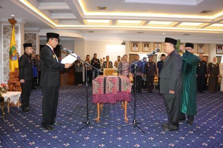 Pjs. Gubernur Lantik Lukmansyah Pejabat Fungsional BPSDM