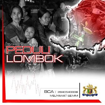 Kadin Lampung Buka Penggalangan Dana untuk Korban Gempa di Lombok