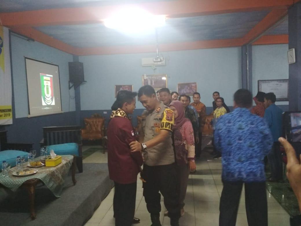 Kapolres Tanggamus Hadiri Talkshow Pelantikan BEM STMIK Pringsewu