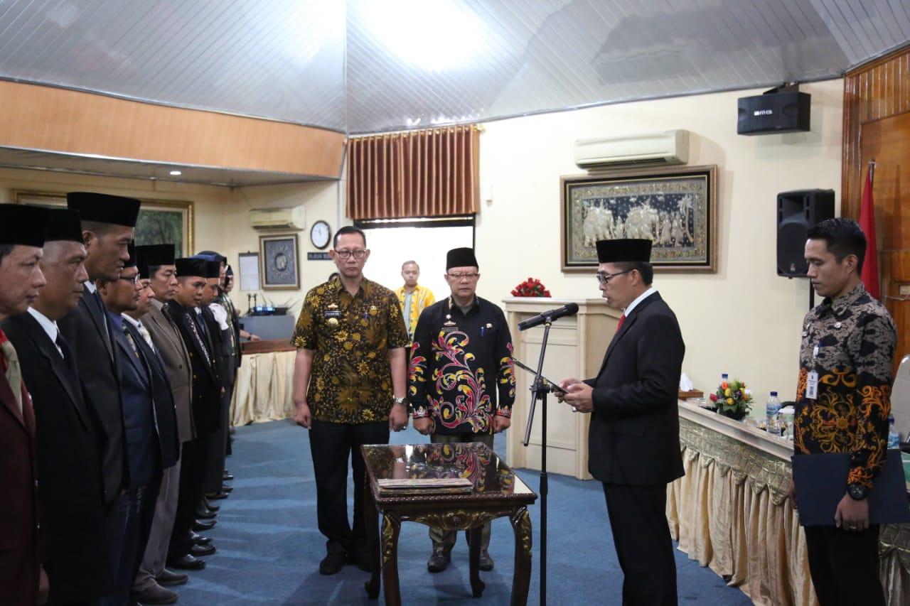 Bupati Zaiful Roling Pejabat Pimpinan Tinggi Pratama Serta Pejabat Administrator