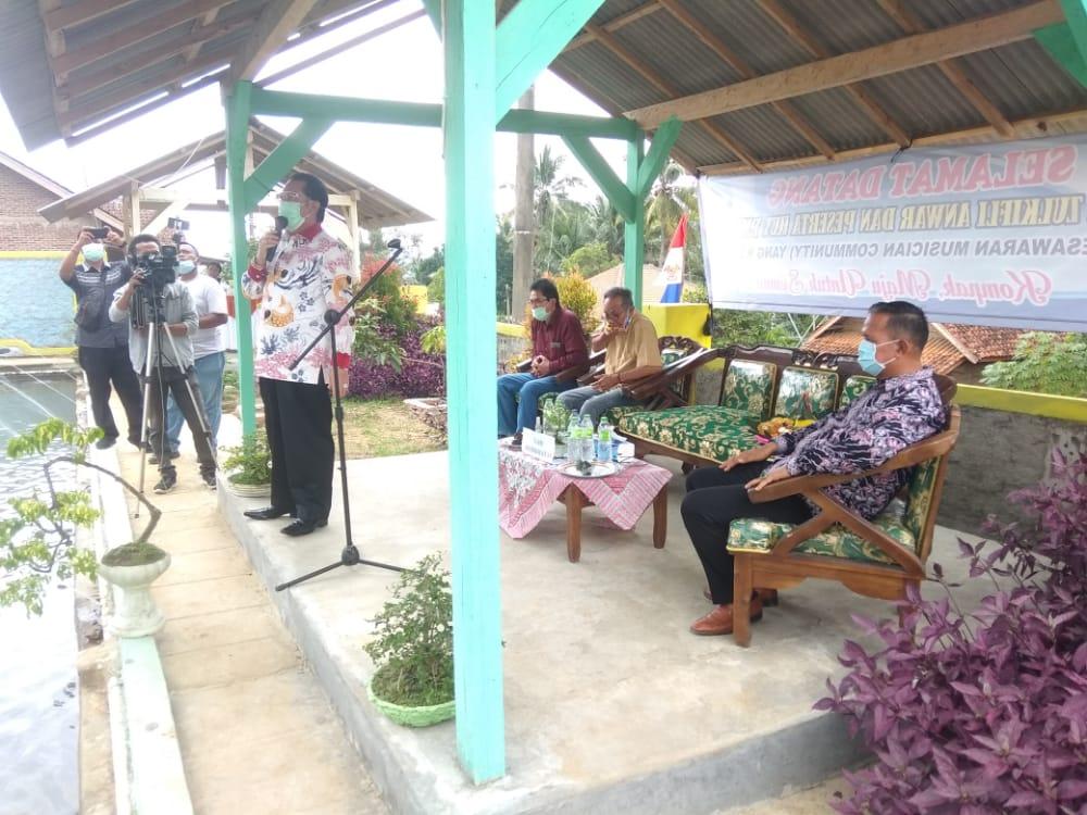 Anggota DPR RI Zulkifli Anwar Hadiri Musician Community (PMC