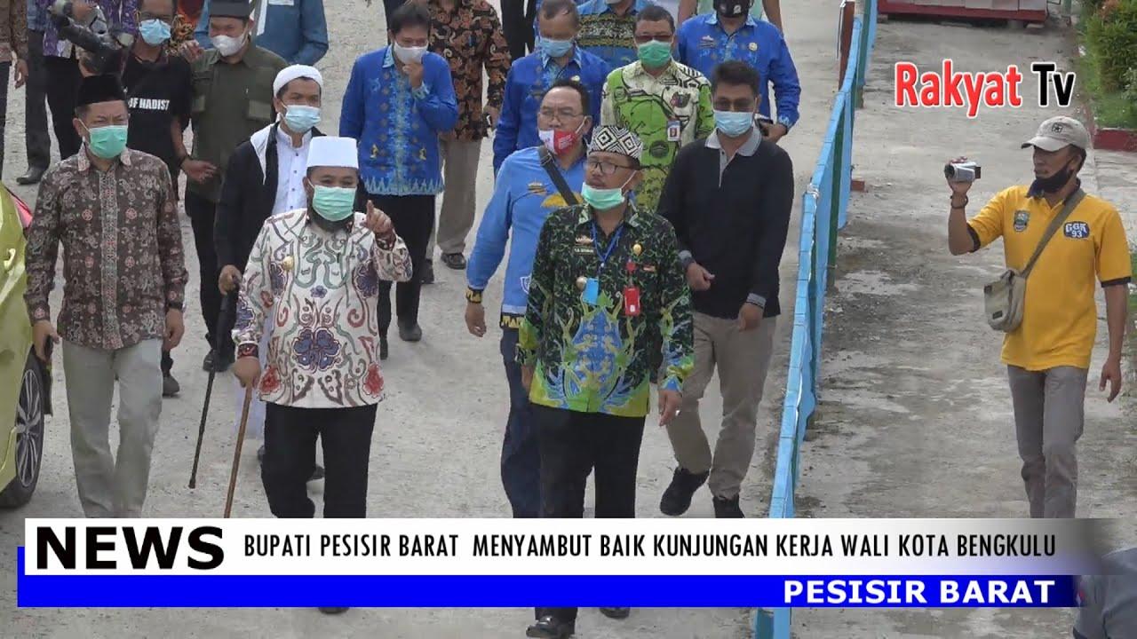 Bupati Pesisir Barat Menyambut Baik Kunjungan Kerja Walikota Bengkulu