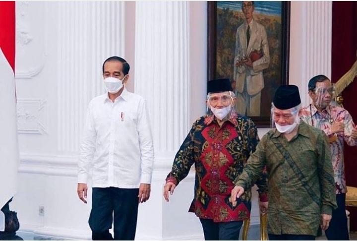 Presiden Jokowi Terima Rombongan Amien Rais Bahas Laporan Komnas HAM