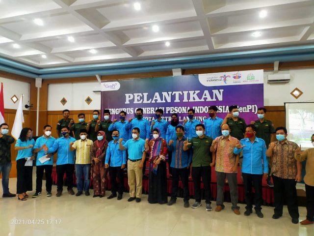Zuli Resmi Pimpin GenPi Kota Metro