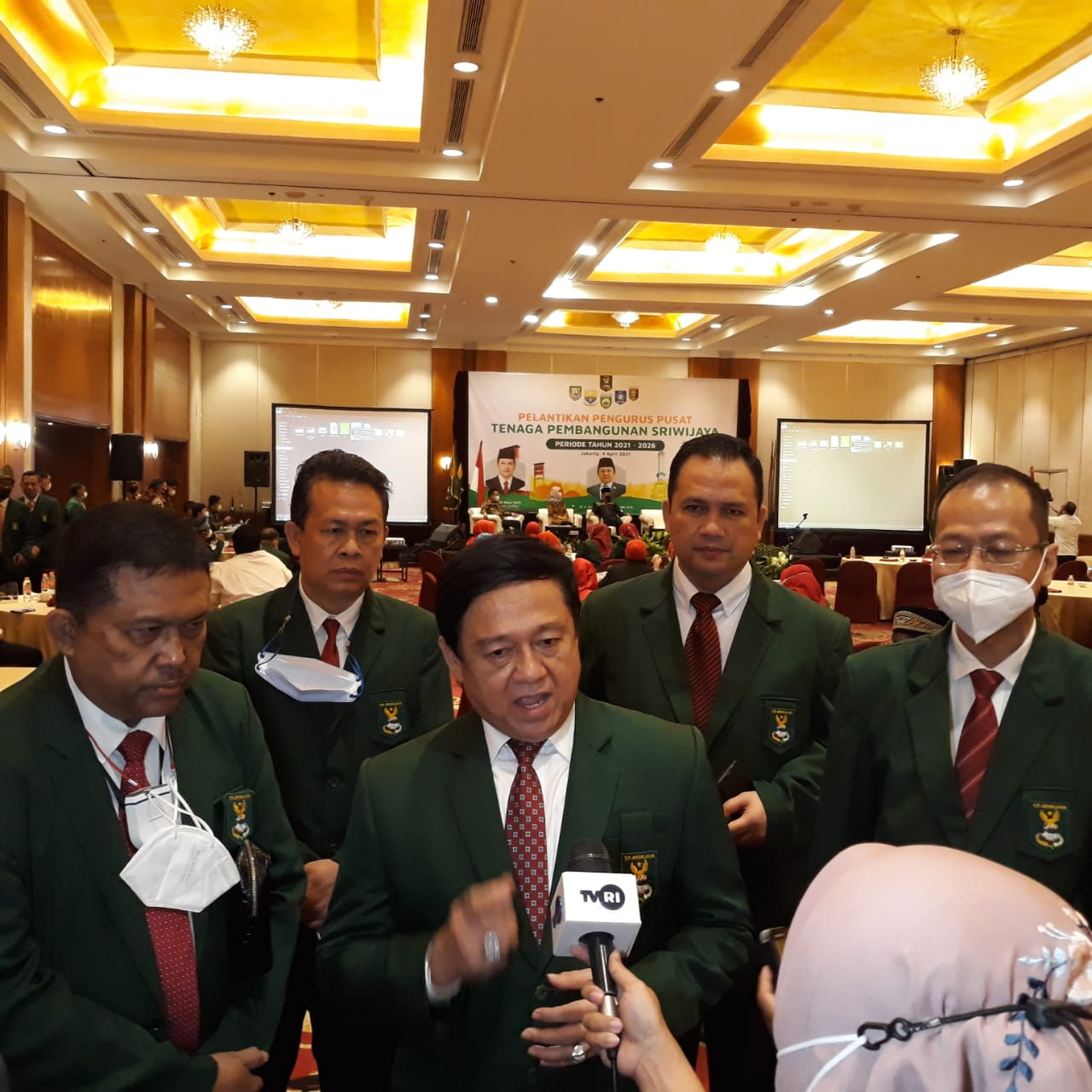 Pengurus Pusat Tenaga Pembangunan Sriwijaya Dilantik, Tingkatkan Ekonomi Sumbagsel