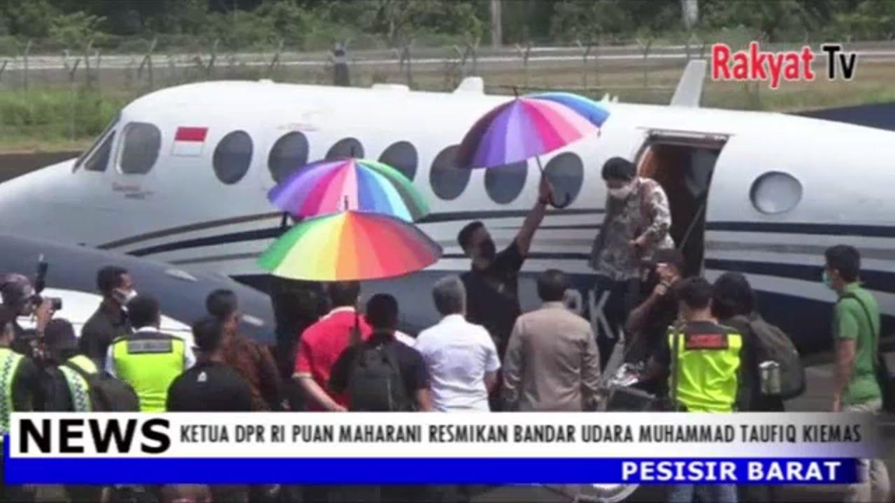 Ketua DPR RI Puan Maharani Resmikan Bandara Udara