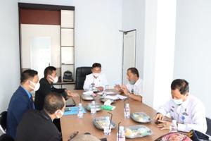 Pemkab Pesibar Gelar Audiensi Dengan GRADASI Provinsi Lampung