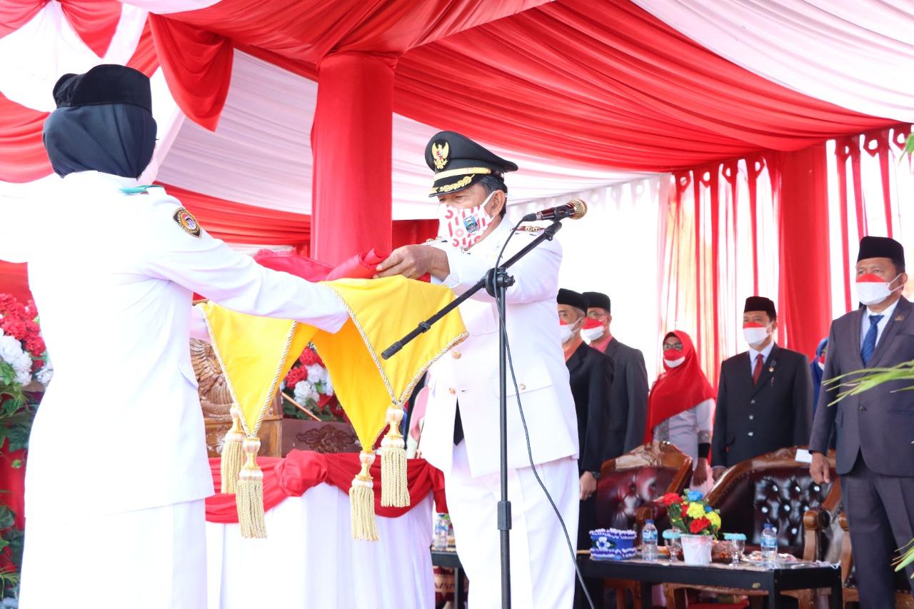 Upacara Peringatan HUT RI Ke-76 Kabupaten Pesisir Barat