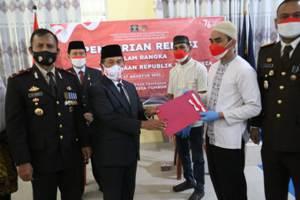Wabup Zulqoini Syarif, Mengikuti Pemberian Remisi Umum Napi Dalam Rangka HUT RI ke-76